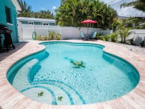 Blue Turtle Cottage Pool