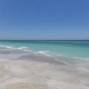 empty beach anna maria island