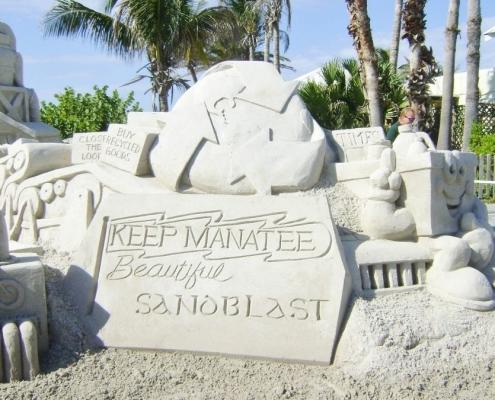 sandblast anna maria island florida